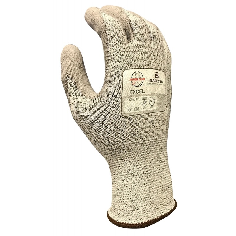Armor Guys Hammerhead Cut Level A3 Work Glove Gray Color - 12 Pairs