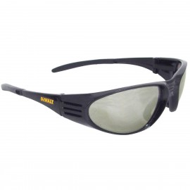 DEWALT Ventilator- Indoor/Outdoor Lens - Black Frame Safety Glasses Full Frame Style Black Color - 12 Pairs / Box