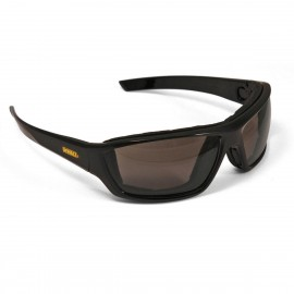 DEWALT Converter - Smoke Anti-Fog Lens Safety Glasses Full Frame Style Black Color - 12 Pairs / Box