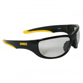 DEWALT Dominator - Indoor/Outdoor Lens Safety Glasses Full Frame Style Black Color - 12 Pairs / Box