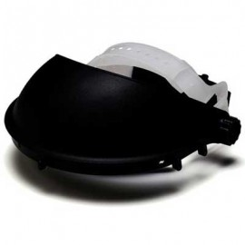 Pyramex Ratchet Faceshield Headgear Black Color 12/Box
