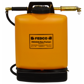 C & S Supply Indian Fedco Poly Tank with Fedco Hand Pump