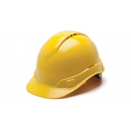Pyramex HP44130V Ridgeline Hard Hat  Yellow Color - 16 / CS
