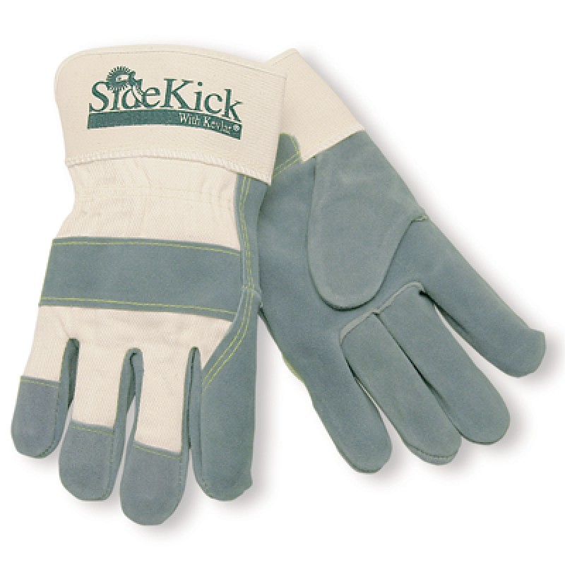 MCR Memphis Gloves Side Kick Heavy Duty Work Gloves 12 Pair
