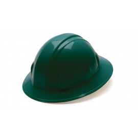Pyramex HP24135 SL Series Full Brim Hard Hat  Green Color - 12 / CS