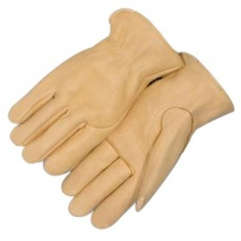 Majestic Tan Elkskin Leather Gloves