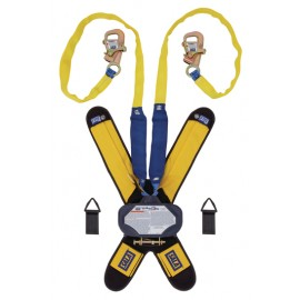 3M™ DBI-SALA® Talon™ Twin-Leg Tie-Back Quick Connect Self Retracting Lifeline, Web 3102115