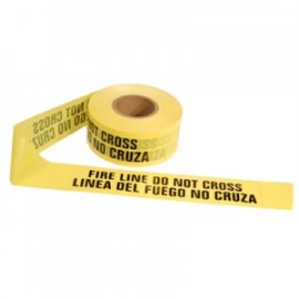 Barricade Tape - FIRE LINE DO NOT CROSS (Bi-Lingual)