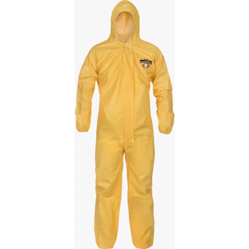 Lakeland C5428 ChemMax 1 Coverall Serged Seam Attached Hood & Elastic  (Case of 25)