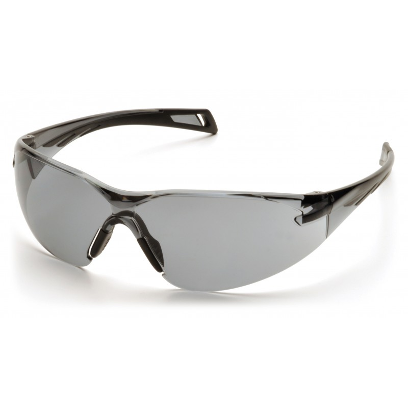 Pyramex Safety - PMXSLIM - Black Temples/Gray Lens Polycarbonate Safety Glasses - 12 / BX