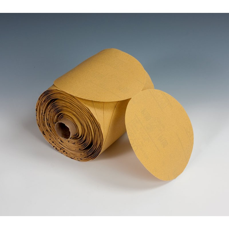 3M™ Stikit™ Paper Disc Roll 210U, 5 in x NH P240 A-weight, 250 discs per roll 4 rolls per case