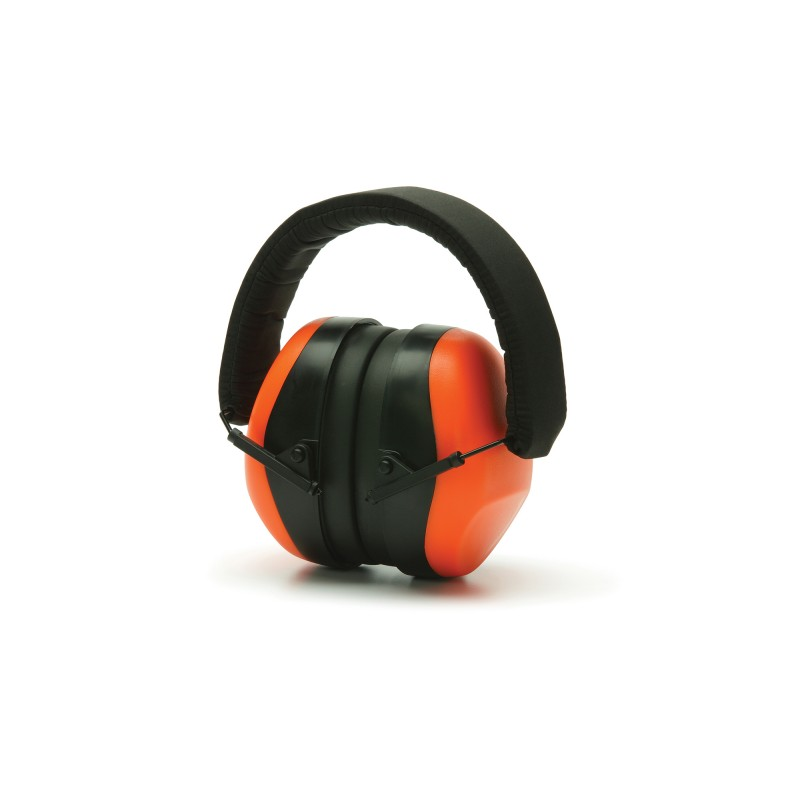 Pyramex PM80 Series PM8041 Ear Muff Hi-Vis Orange Color One Size - 1 EA