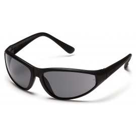 Pyramex Safety - Zone - Black Frame/Gray Lens Polycarbonate Safety Glasses - 12 / BX
