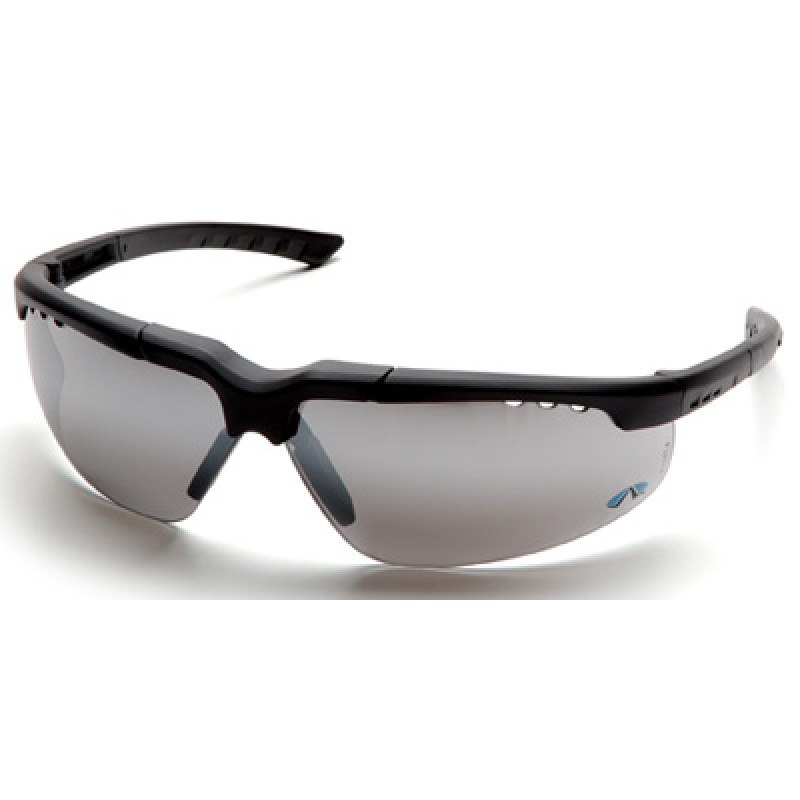 Reatta Safety Glasses with Charcoal Frame and 1236 Mirror Lens