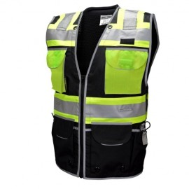 Radians SV55-1ZBD Type O Class 1 Heavy Woven Two Tone Engineer Vest