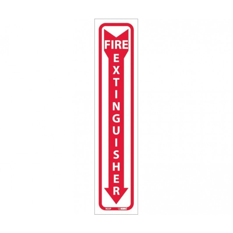 NMC M23P Fire Extinguisher Sign 18x4