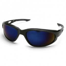 Edge Dakura Safety Glass - Blue Mirror Lens