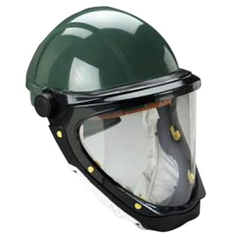 3M Hardhat L-701 with Wide-View Faceshield