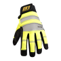CoolCore OK-CCG450 Anti-Vibration Gloves with D30 Yellow (2 PK)