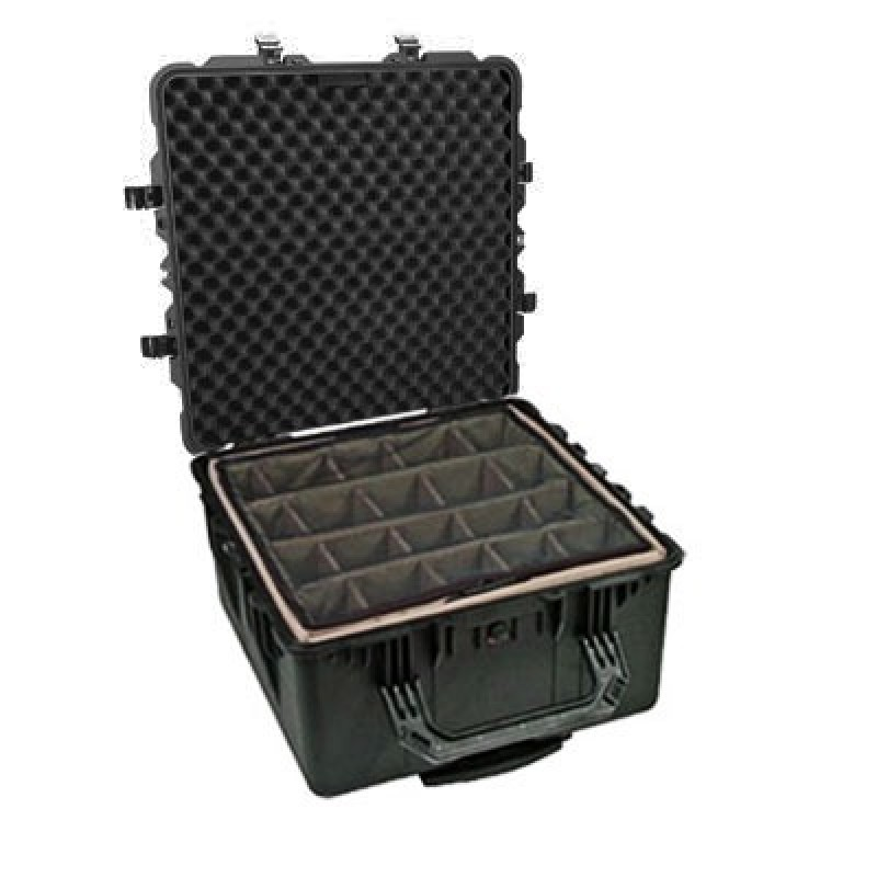 Pelican 1640 Case with Padded Dividers
