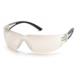 Pyramex  Cortez  Black Temples/Indoor/Outdoor Mirror Lens  Safety Glasses  12/BX