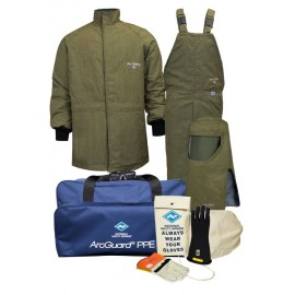 NSA KIT4SCLT40 40 cal ArcGuard RevoLite Arc Flash Kit with Short Coat & Bib Overall