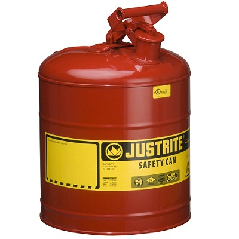 Justrite Type 1 Safety Can - 5 Gallon