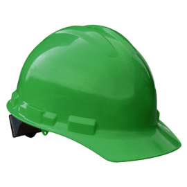 Radians Granite Cap Style 4 Point Pinlock Suspension Hard Hat - Green Color (1 Each)