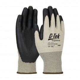 PIP 15-440/S G-Tek Seamless Knit Suprene Blended Glove with with NeoFoam Coated Palm & Fingers Touchscreen Compatible Small 6 DZ