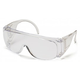 Pyramex Solo - Clear- Over Prescription Polycarbonate Safety Glasses - 12 / BX