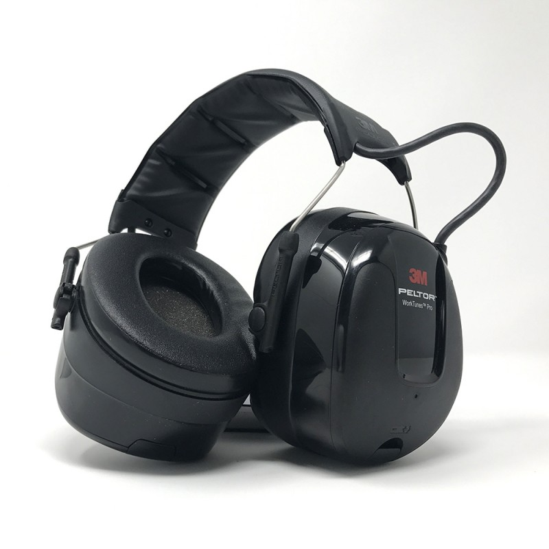 fe3d3b8f5d0 3M PELTOR WorkTunes Pro AM/FM Radio Headset, HRXS221A-NA - Black | Enviro  Safety Products