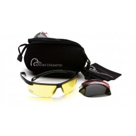 Duck's Unlimited  Duck's Unlimited  Shooting glasses  4 interchangeable lenses