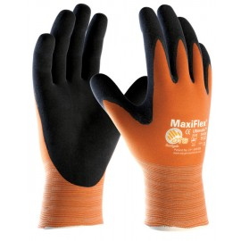 PIP ATG MaxiFlex Ultimate Orange Palm Coat Glove (1 Pair)