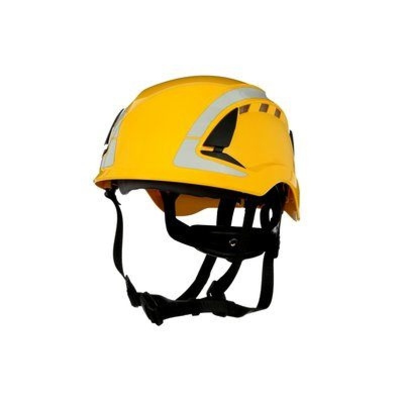 3M™ SecureFit™ Safety Helmet, X5002VX-ANSI,  Yellow, vented (Case of 4)