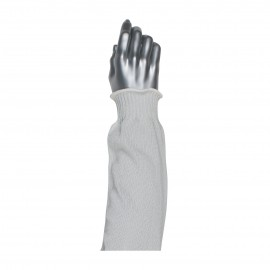"""PIP 25-621 Kut Gard Single Ply PolyKor Blended Antimicrobial Sleeve with Velcro Top and Clip 21"""" 24 EA"""