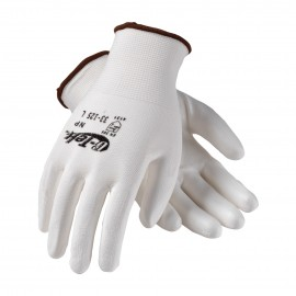 PIP 33-125/L G-Tek Seamless Knit Nylon Glove with Polyurethane Coated Smooth Grip on Palm & Fingers Large 25 DZ