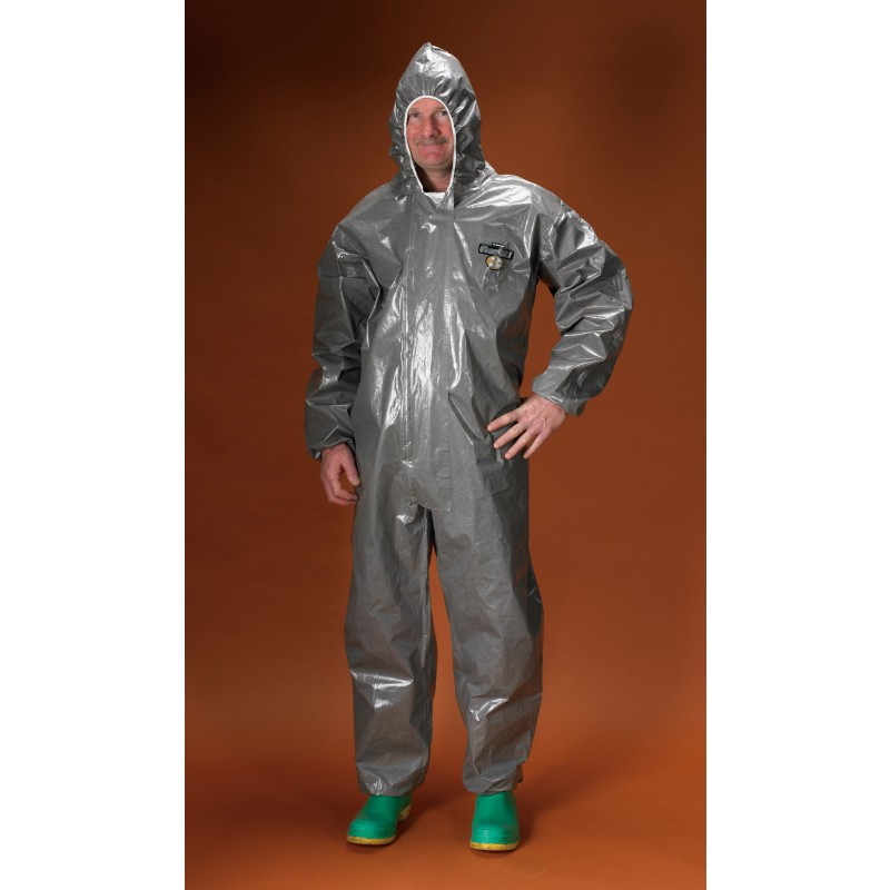 Lakeland ChemMax 3 Coverall - Respirator Fit Hood -4X 6/Case