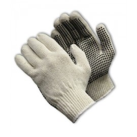 Seamless Knit with PVC Dot Grip Glove - 10 Gauge