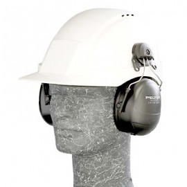 3M™ PELTOR™ HT Series™ Listen Only Headset HTM79P3E-49A, Hard Hat, One-Sided Communications