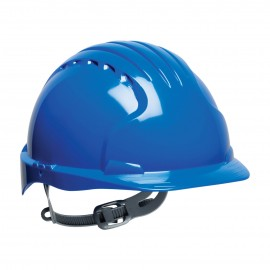PIP Evolution Deluxe 6131 Standard Brim Hard Hat Blue Color 10/Case