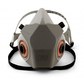 3M™ Half Facepiece Reusable Respirator Drop Down 6000DD (Small-Large) (Case of 24 Masks)