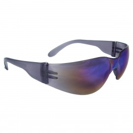 Radians Mirage Rainbow Mirror Safety Glasses Frameless Rainbow Mirror 12 PR/Box