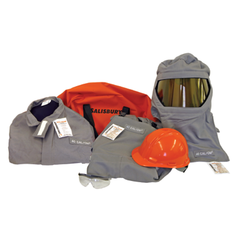 Salisbury PRO-WEAR Personal Protection Equipment Kits 40 cal/cm2  Gray Color  1 Each
