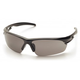 Pyramex  Ionix  Black Frame/Gray AntiFog Lens  Safety Glasses  12/BX
