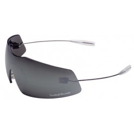 Phantom Safety Glasses with Chrome Temples and 1236 Mirror Lens