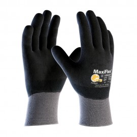 PIP ATG 34-876 MaxiFlex Ultimate Gloves - Full Coat Nitrile Micro-Foam - Black Color (1 DZ)