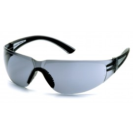 Pyramex  Cortez  Black Temples/Gray Lens  Safety Glasses  12/BX