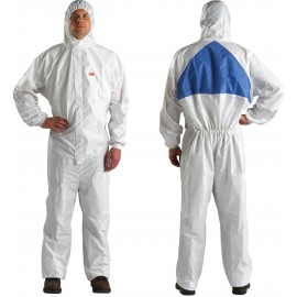 3M Disposable Protective Coverall Safety Work Wear 4540+BLK-L 25 EA/Case