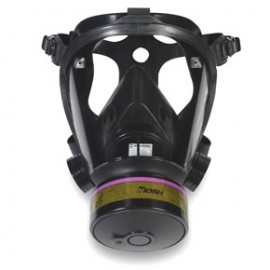 Honeywell 773100 Survivair Opti-Fit Tactical Mask Facepiece with Mesh Headnet, Large
