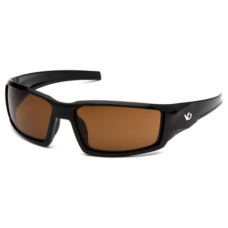 Venture Gear  Pagosa  Black Frame/Bronze AntiFog Lens  Safety Glasses  1 / EA